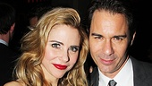 Kerry Butler and Eric McCormack star as Senator Joseph Cantwell and his wife Mabel in The Best Man.