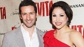 Evita  Opening  Marco Zunino- Bianca Marroquin