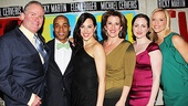 Evita  Opening  Tim Shew- Eric L. Christian- Jessica Lea Patty- Rebecca Eichenberger- Margot de La Barre,-Ashley Amber