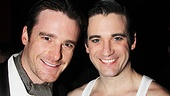 Bill English filled in for Colin Donnell in Anything Goes while Donnell was shooting the TV pilot Arrow, and the two Billys are glad to reunite in New York.