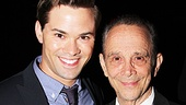The Book of Mormon headliner Andrew Rannells cant pass up a visit to the McKittrick Hotel to celebrate Joel Greys birthday.