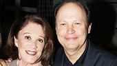 Billy Crystal congratulates pal Linda Lavin on a job well done!