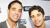Clybourne Park Opening Night  Bobby Cannavale  Jake Cannavale 