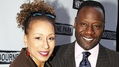 Clybourne Park Opening Night  Tamara Tunie  Gregory Generet 