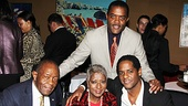 A Streetcar Named Desire opening night  Blair Underwood and family 