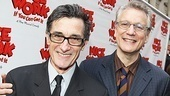 Peter and the Starcatcher director Roger Rees and writer Rick Elice take a night off to see Matthew Broderick and Kelli O'Hara.