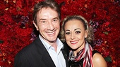 Martin Short can't help but grin after watching Tracie Bennett's all-or-nothing performance.