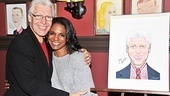 Tony Sheldon shares a hug with Will Swenson's other leading lady, Audra McDonald.