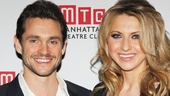 Hugh Dancy and Nina Arianda can't get enough of each other—they're MTC gala co-hosts and co-stars in David Ives' Venus in Fur!