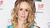 Desperate Housewives&#39; Sarah Paulson is on hand to announce the award for Outstanding Lead Actor.