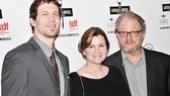Tribes stars (and Lortel nominees) Russell Harvard, Mare Winningham and Jeff Perry play an onstage family—and they're close offstage, too!