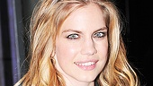 Lonely Im Not opening night  Anna Chlumsky