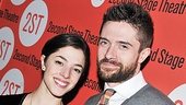 Lonely, Im Not stars Olivia Thirlby and Topher Grace are thrilled to have taken this emotional journey to opening night together. 
