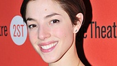 Olivia Thirlby has been away from the stage since her time in Farrugut North, and she's delighted to be back off-Broadway.