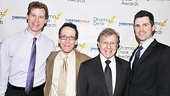 Drama Desk Reception – Kevin Earley –Larry Hochman- Maury Yeston- Matthew Cavenaugh