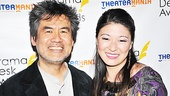 Drama Desk Reception – David Henry Hwang- Jennifer Lim