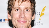 Queen of the Mist star Andrew Samonsky is excited to be at the starry reception.