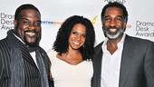 It's the gang from Catfish Row! Porgy and Bess nominees Phillip Boykin, Audra McDonald and Norm Lewis couldn't look happier.