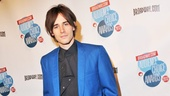 Spider-Man's Reeve Carney trades in his red Spidey suit for a cool blue jacket.