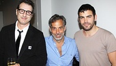 Claire Tow Theater Celebration- Jon Robin Baitz  Joe Mantello- Matthew Risch