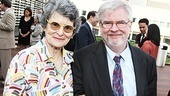 Tony-winning actress Mary Louise Wilson (now at LCT in 4000 Miles) enjoys catching up with her Sister Mary Ignatius Explains It All For You playwright Christopher Durang