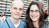 Slowgirl star eljko Ivanek  and director Anne Kauffman cant wait for their show to begin!