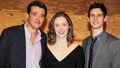 As is in the play, Amanda Quaid finds herself stuck between Jason Butler Harner and Cory Michael Smith.