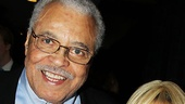Nominee James Earl Jones (The Best Man) enjoys the luncheon with his wife Cecilia Hart.