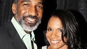 Norm Lewis congratulates his Porgy and Bess co-star Audra McDonald on her Distinguished Performance Award!