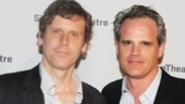 Title and Deed playwright Will Eno is joined by his friend Michael Park. The actor starred in Eno's Middletown at the Vineyard Theatre and just finished his Broadway run in How to Succeed in Business Without Really Trying.