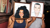 Norm Lewis portrait at Sardi's – Audra McDonald – David Alan Grier