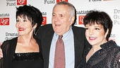 Dramatists Guild Fund honoree John Kander poses with two of the greatest interpreters of his songs, Chita Rivera and Liza Minnelli.