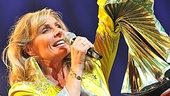 After nearly eight years as sexpot Tanya in Mamma Mia!, Judy McLane debuts as Donna Sheridan.