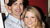 Singer Greg Naughton comes in close for a photo with his lovely wife, Kelli O'Hara.