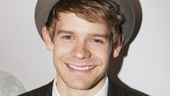 Andrew Keenan-Bolger is on hand to support his Newsies co-star Jeremy Jordan.