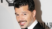 Evita headliner Ricky Martin is thrilled to perform And the Money Kept Rolling In (and Out) at the Tony Awards.