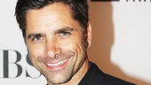 Broadway alum John Stamos supports the nominees at the Tony Awards.
