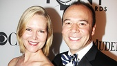 Rebecca Luker and Danny Burstein have been a powerful Broadway couple since 2000, racking up a total of five Tony nominations between them.