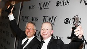  2012 Tony Awards Winners Circle  Alan Menken  Jack Feldman 