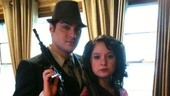 Watch out, Jeremy Jordan and Laura Osnes: This Bonnie & Clyde duo looks pretty badass.