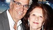 The Lyons star Linda Lavin and her actor husband Steve Bakunas enjoy a night off at the movies.