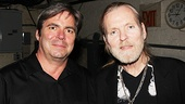 Allman talks music with Superstars musical director Rick Fox.