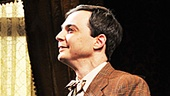 Bravo! Headliner Jim Parsons takes a bow while co-stars Tracee Chimo and Jessica Hecht look on.