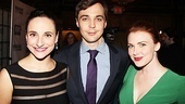 Stars Tracee Chimo, Jim Parsons and Holley Fain celebrate in style at the swanky after party.
