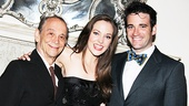 What an Anything Goes reunion! Joel Grey, Laura Osnes and Colin Donnell all look so dapper.