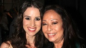 Chilina Kennedy and Yvonne Elliman get cheek to cheek in a photo for the Superstar history books.
