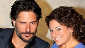 Marissa Jaret Winokur  NYC Press Tour  Joe Manganiello  Marissa Jaret Winokur