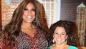 Marissa Jaret Winokur  NYC Press Tour  Wendy Williams  Marissa Jaret Winokur