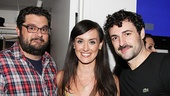 Max receives some love from his former Meet Me in St. Louis co-star (and upcoming Grace in Annie) Brynn O'Malley and her boyfriend, SNL funnyman Bobby Moynihan.