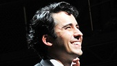 Welcome back! John Lloyd Young beams with pride as the crowd erupts in applause at curtain call.